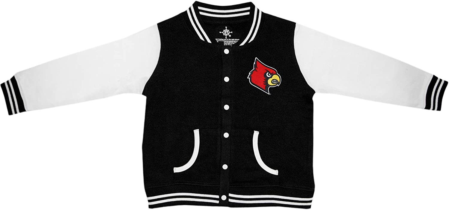 University of Louisville Cardinals Baby and Toddler Fleece Vest
