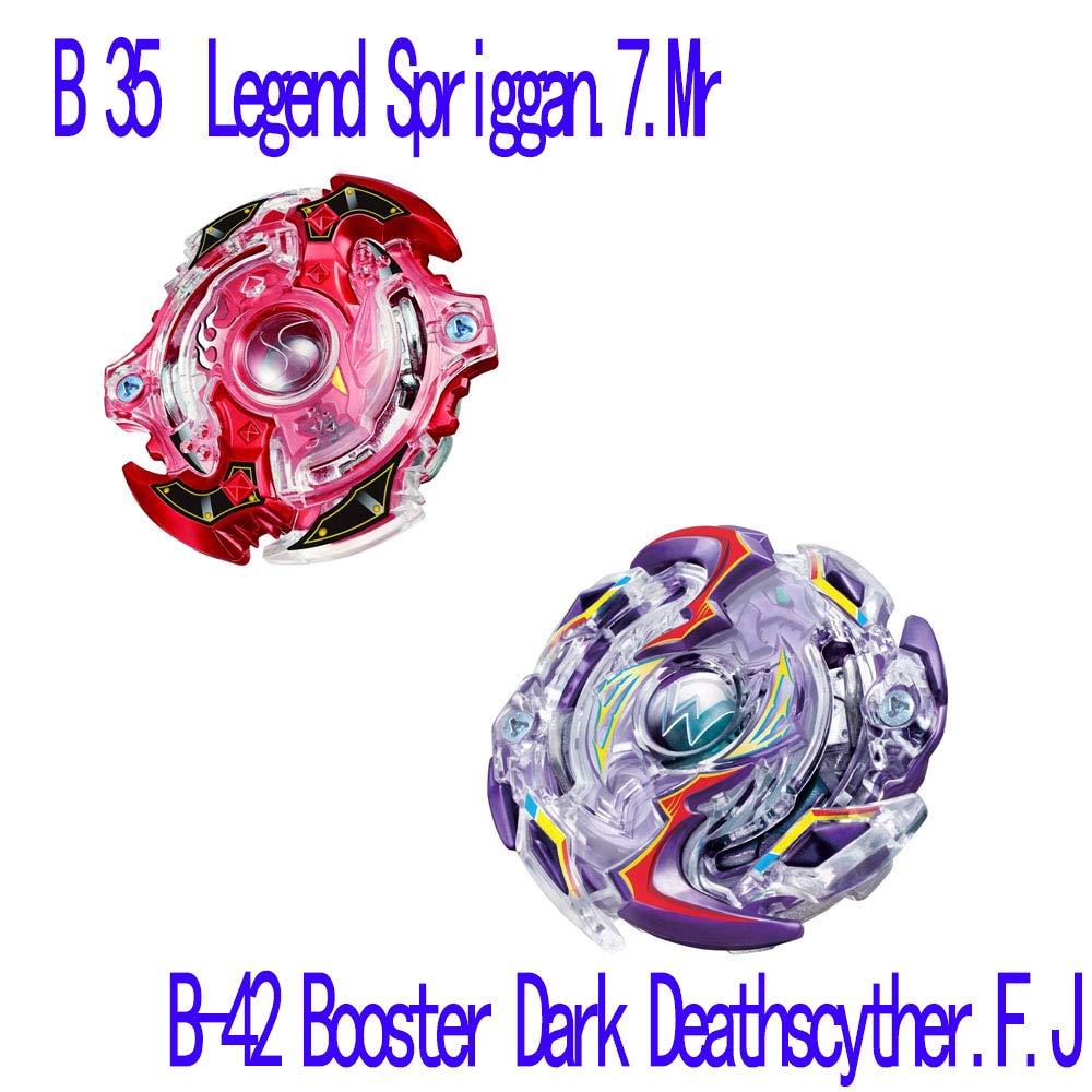 Bey Battle Burst Evolution Star Storm Battle Set--with Burst Beystadium, Battling Tops, & Launchers (Amazon Exclusive Complete Set) by Harspincher (Image #5)