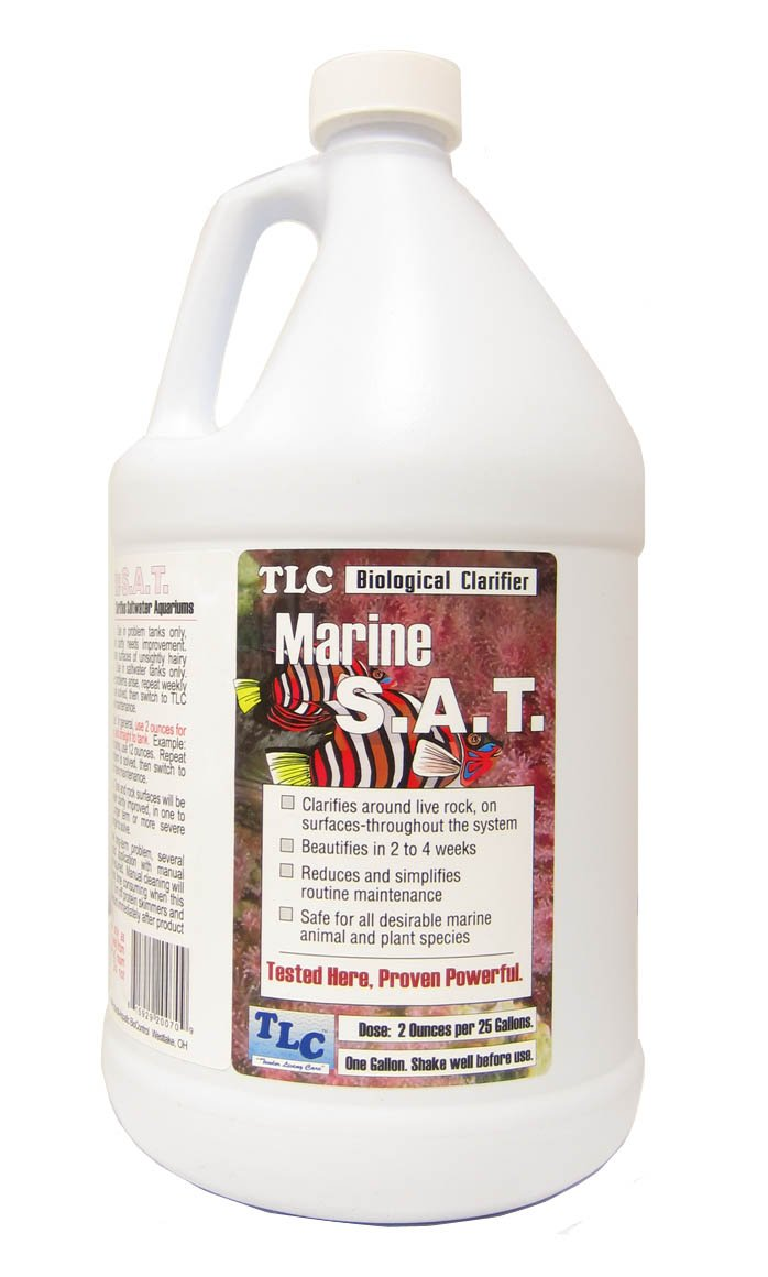 TLC Marine SAT Biological Clarifier, 1 gallon by TLC