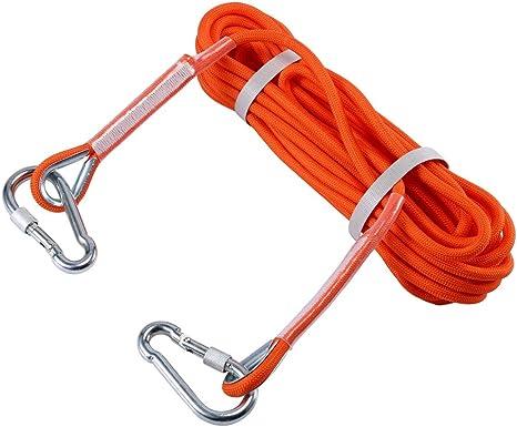 Selighting Cuerda de Seguridad Cuerda de Escalada Profesional de Alta Resistencia para Escalar al Aire Libre y en Interiore Perfessional Rappelling ...