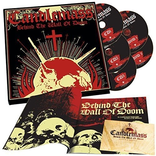 Behind The Wall Of Doom ( 3 Cd & 2 Dvd Book )