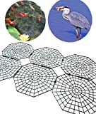 Good Ideas Pack of 30 Black Fish Pond Net Protection Covers (1135) Protect your pond from Herons, Cats and Predators.