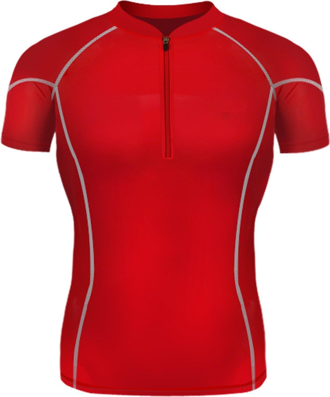 LANBAOSI Herren Athletic Tight Kompressionsshirt Base Layer Lange /Ärmel