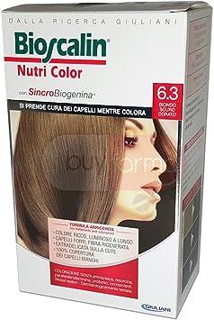 Nutri color tinte para cabello n.6.3 Rubio Oscuro Dorado ...