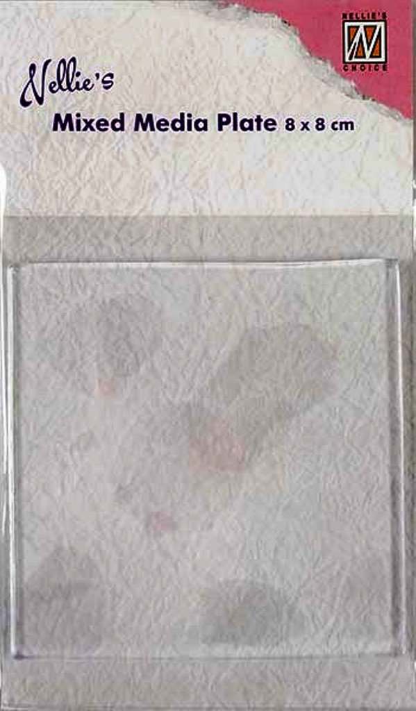 Nellies Choice NMMP002 mixed media plate Square 80x80mm