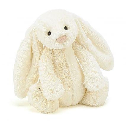 Jellycat BASS6BC - Peluche conejo, P, color crema