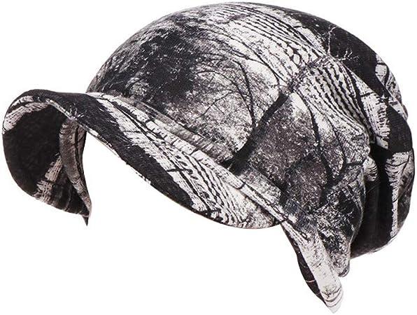 Amorar Sombrero de Oncologicos con Visera UV 50+ Gorras de Béisbol Baker Boy Turbante para Mujer Cáncer Perdida de Cabello: Amazon.es: Deportes y aire libre
