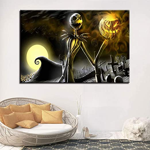 The Nightmare Before Christmas Art print poster home decor