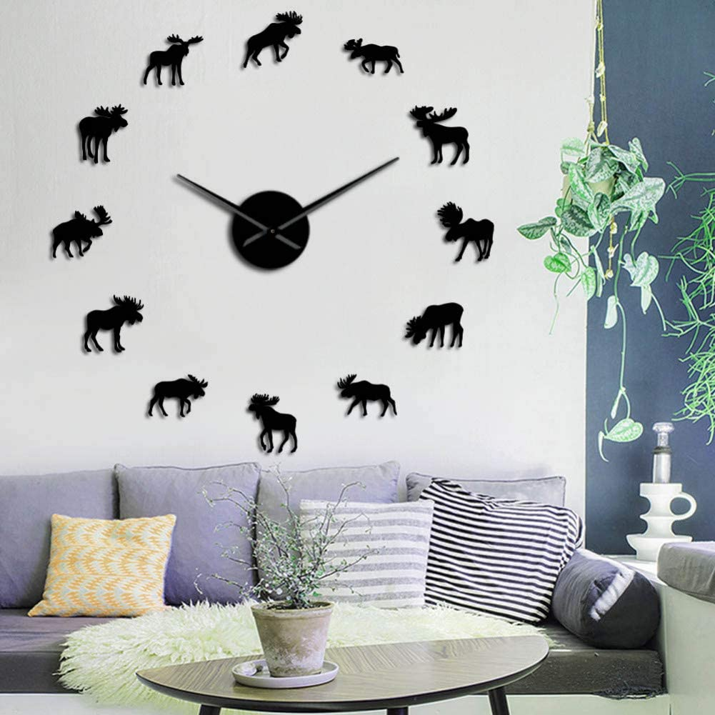Amazon.com: Wall Clock DIY Home Decoration Wall Decals timepieces