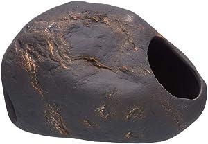 Plecoceramics Cichlid Stone Magma Decoration - Large Aquarium Rock - Fish Tank Hideaway Decor for Cichlids