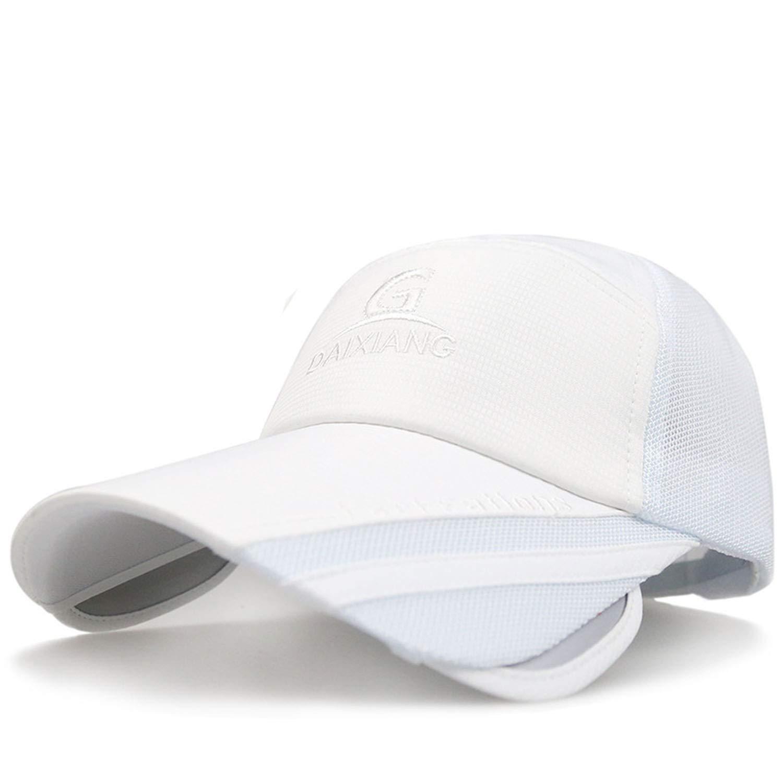 Male Baseball Cap Summer UV Sun Cap Casual Outdoor Sport Eye Protect Bike Cap Snapback Visor Hat