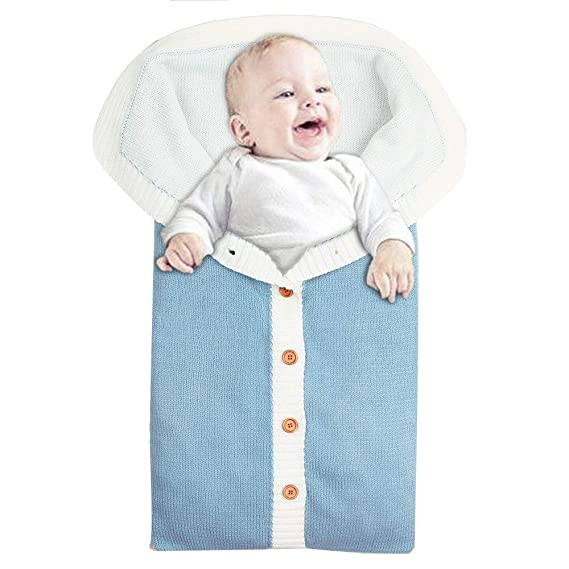 Mitlfuny Saco de Dormir para Bebé Niños Invierno Grueso Terciopelo Swaddle Wrap Manto Envolvente Recién Nacido