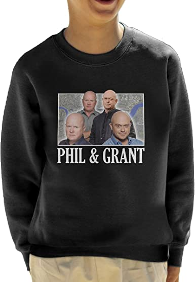 Coto7 The Mitchell Brothers Eastenders Montage Kids Sweatshirt