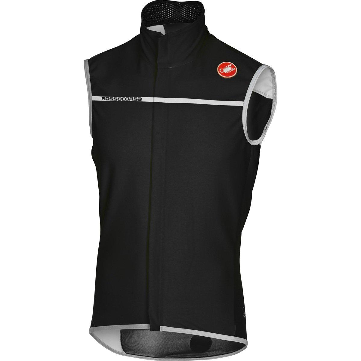 Castelli Perfetto Vest – Men 's B074Y99CB1 Large|ライトブラック ライトブラック Large