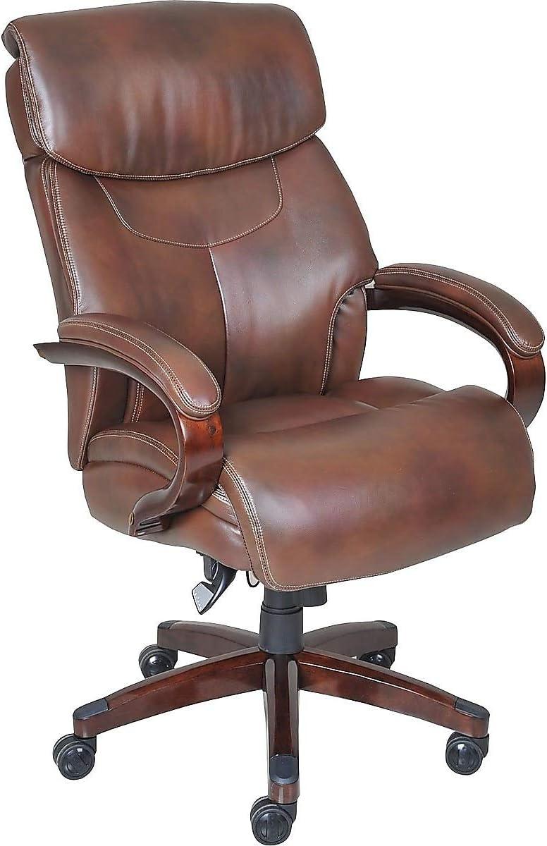 La-Z-Boy 1104593 La-Z-Boy Bradley Bonded Leather Executive Chair