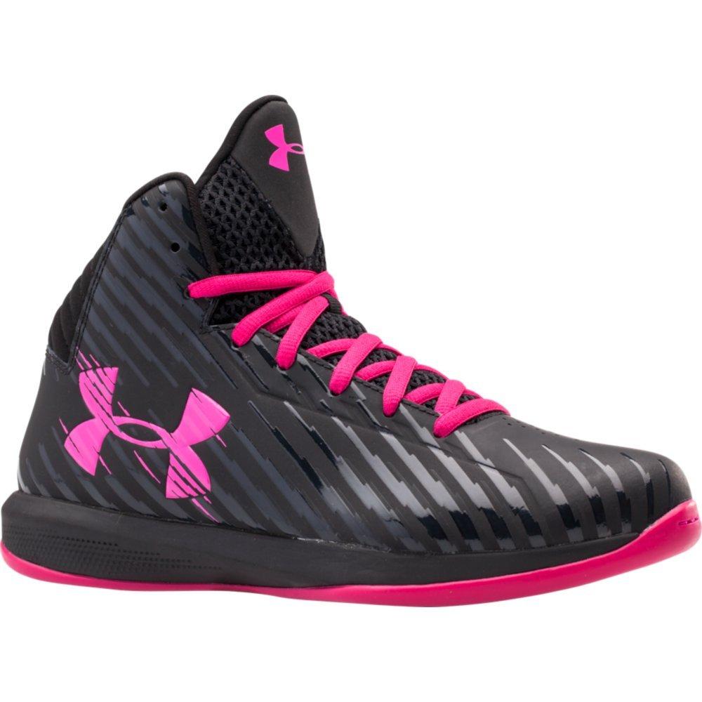 Under Armour Womens UA Jet Basketball Shoes 11 Black