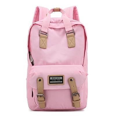 LF&F Backpack Sac à bandoulière décontracté sac à tendance étudiante sac à dos créatif sac à dos portable ultra-léger anti-déchirure