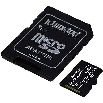 Class 10, UHS-I Professional Kingston 32GB Alcatel SMARTFLIP MicroSDHC Card with custom formatting and Standard SD Adapter!
