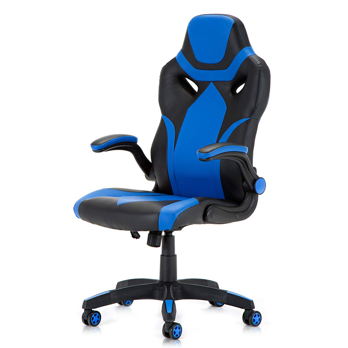 Racing Style PU Leather Gaming Chair – Ergonomic Swivel Computer, Office or Gaming Chair Desk Chair HOT BU