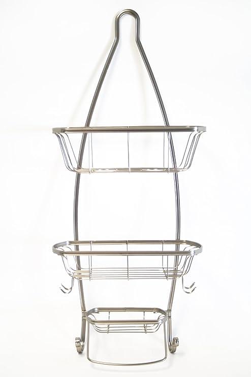 Amazon.com: Splash Home Yair de ducha caddy baño cesta ...