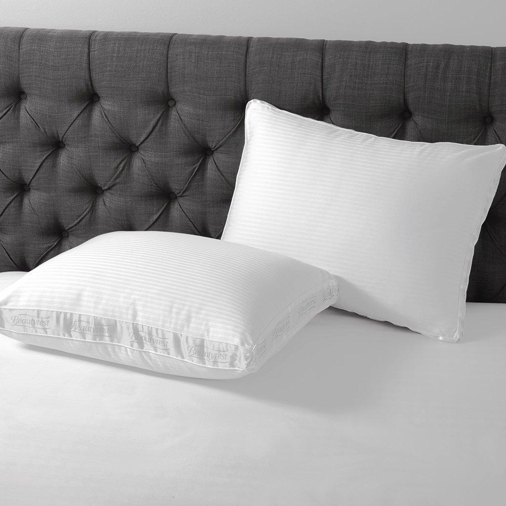 Beautyrest extra-firmサポートコットン枕|低刺激性300スレッドカウントにPimaコットン枕 キング ホワイト CC Pillow Extra Firm King B077QRJZ3G  キング