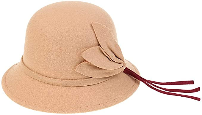 Gorros Sombrero De Campana para Mujer Vintage Otoño Estilo ...