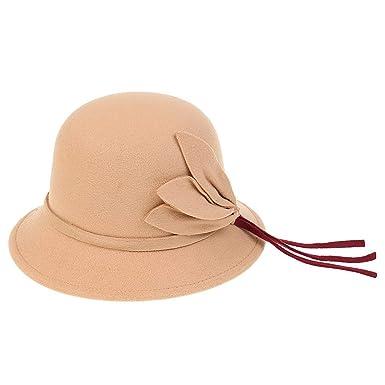 diseño de moda zapatos deportivos en pies imágenes de Gorros Sombrero De Campana para Mujer Vintage Otoño Estilo ...