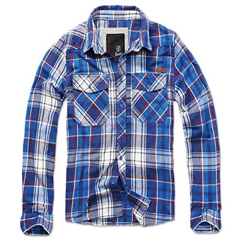 Brandit Checkshirt Chemise bleu XXL