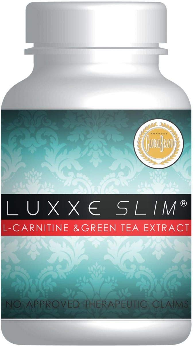 Authentic Luxxe Slim, L-Carnitine & Green Tea Extract - 60 Capsules - By FrontRow