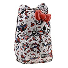 Backpack - Hello Kitty - Tattoo Print Face New Licensed sanbk0203