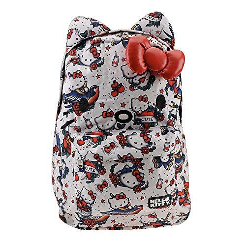 Hello Kitty Tattoos (Loungefly Hello Kitty Flash Tattoo Backpack Multi)