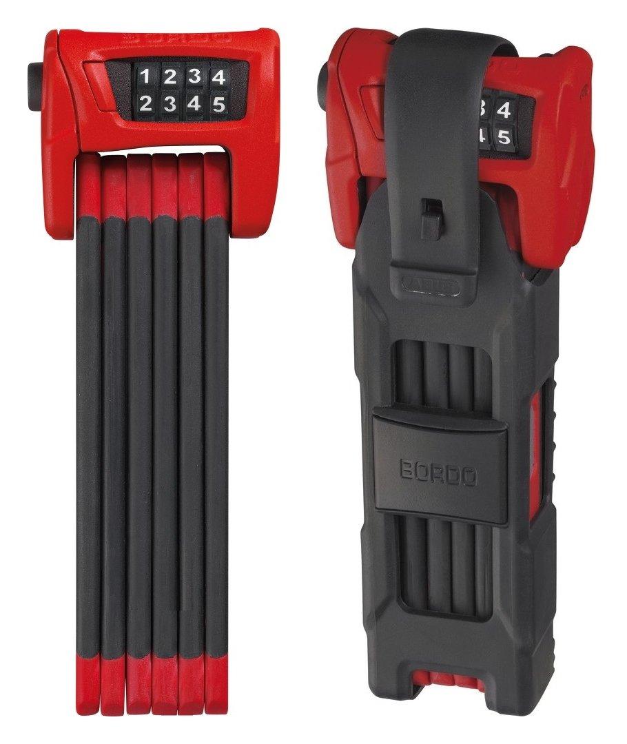ABUS(アブス) Bordo 6100 [並行輸入品] 900mm レッド B06Y1G6CHL