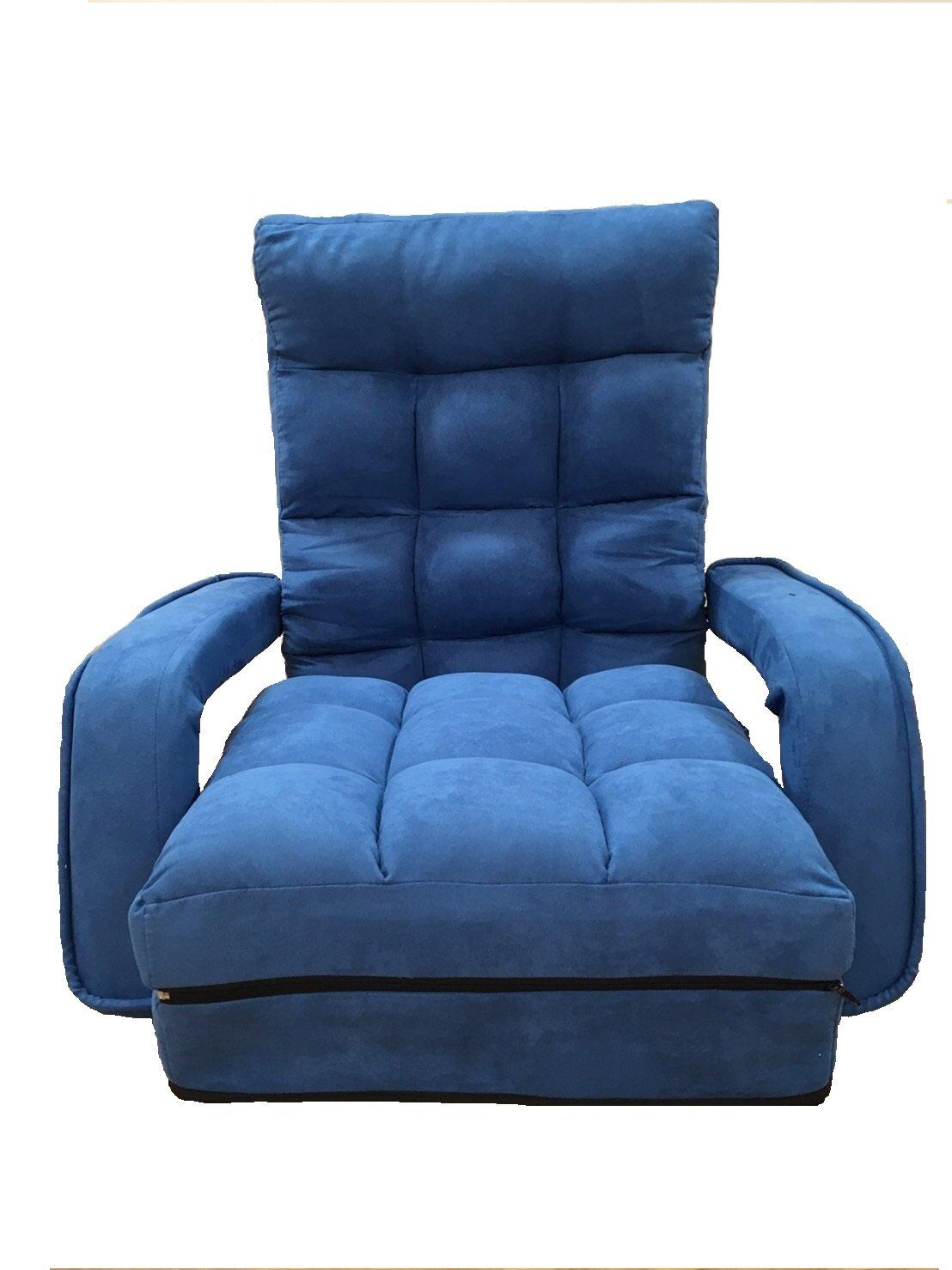 座椅子ひじ掛け 脚ラクチェア肘付 (ネイビー)    B01M18A7FG ネイビー ネイビー