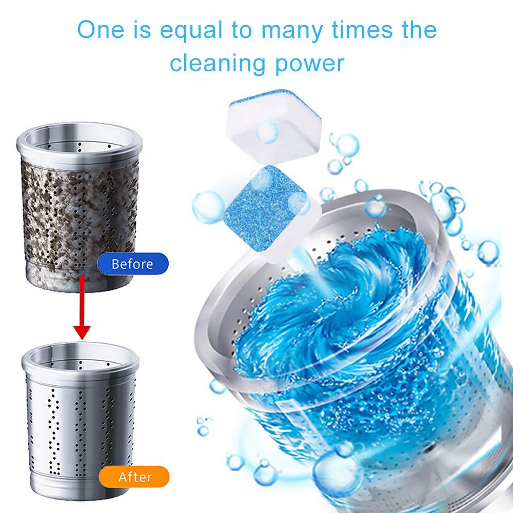 Tabletas limpiadoras de lavadora, descalcificadoras de limpieza ...
