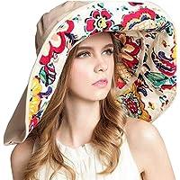 OZ SMART Wide Brim Sun Hat UPF 50 + UV Protection, Women Premium Multiple Styles Bucket Hat with Detachable Brim…