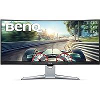 BenQ 35-inch Ultrawide Curved Monitor (EX3501R), HDR, 21:9, 3440x1440, WQHD, VA, FreeSync™, 100Hz, USB Type-C™, 1800R, Edge-to-Edge Ultra Slim Bezels, Brightness Intelligence Plus Technology, HDMI, DP