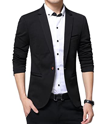 f6672933324 Benibos Men's Slim Fit Casual Premium Blazer Jacket at Amazon Men's ...