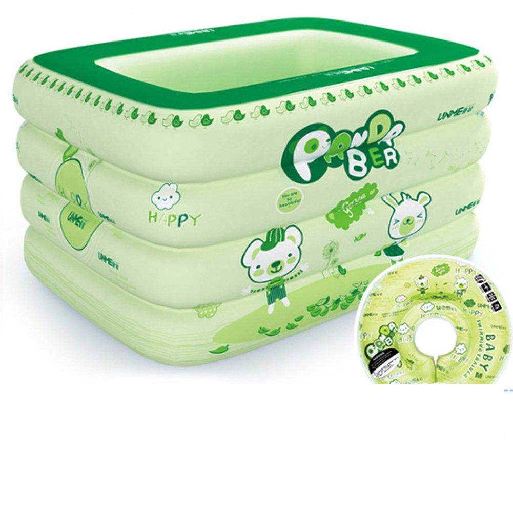 Infant Pool/Aufblasbare Planschbecken, Quadrat/Baby Baby schwimmen Fässer/Neue marine Ball-Pool für Kinder-B