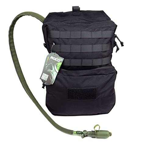 ROCOTACTICAL 3L Tactical Molle Hydration Pack Backpack (Water Bladder  Excluded) e21c2a590f1d5