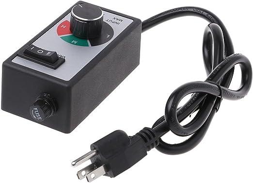BIlinli AC 120V 15A Ventilador Variable Control de Velocidad Motor ...