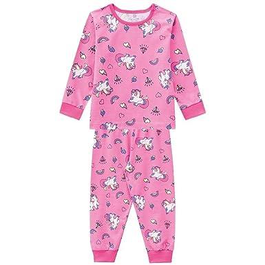 e883953a4 Pijama Infantil Menina Estampa Unicórnios Brandili  Amazon.com.br ...