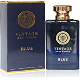 VINTAGE BLUE, , Eau de Parfum Spray for Men, Mediterranean Freshness, Daytime and Casual Use, Perfect Gift, for all Skin…