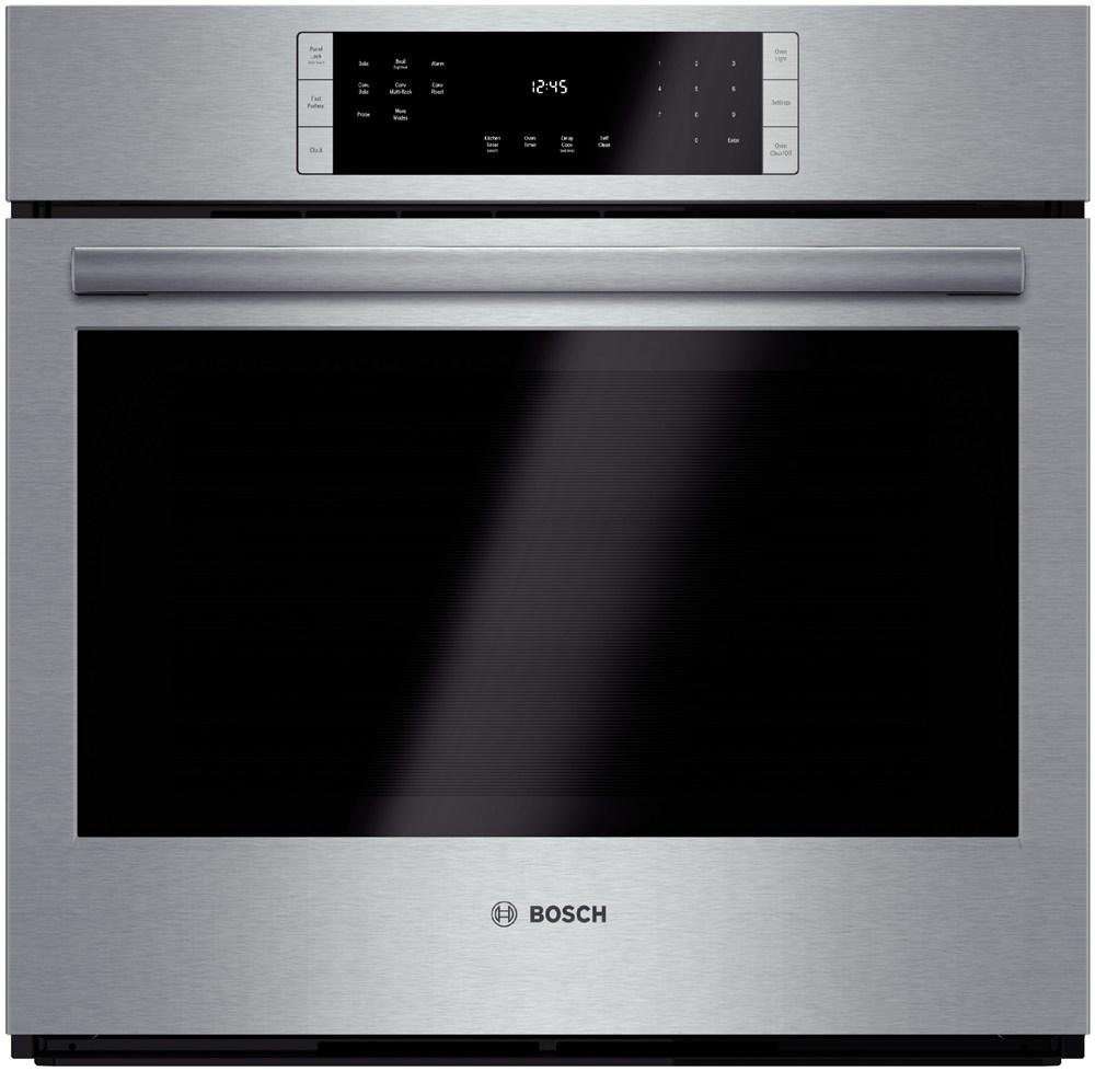 Bosch HBL8451UC 800 30'' Stainless Steel Electric Single Wall Oven - Convection  by Bosch