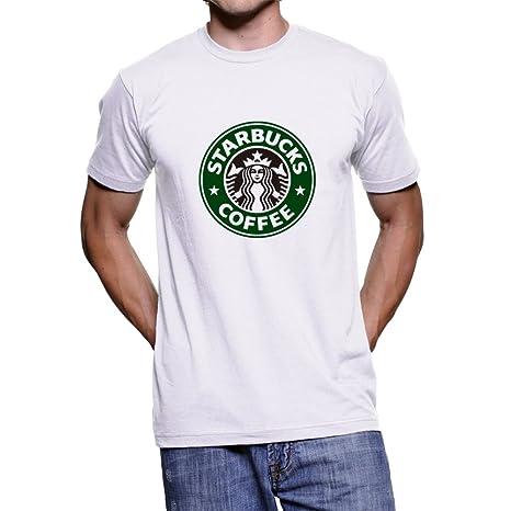 Amazoncom Starbucks Coffee Logo Unisex T Shirt White S Smallus