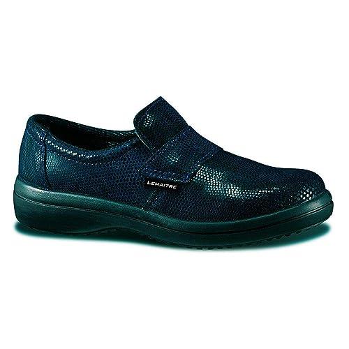 tout neuf 893a6 e9407 Lemaitre Chaussure de sécurité Femme Marine S2 SRC