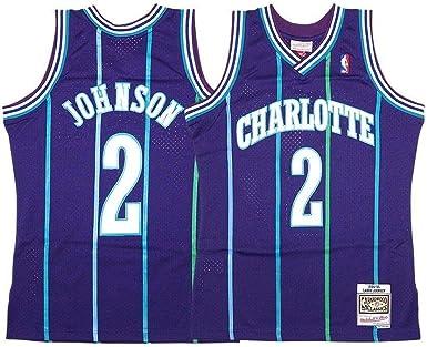 Charlotte Hornets Larry Johnson Swingman 1994 Alternate Jersey