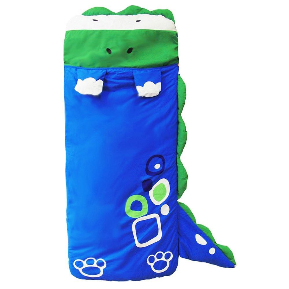 ZJKC® 55''x24'' Cartoon Kids Slumber Bags Dinosaur Pattern Portable Indoor and Outdoor Baby Children Sleeping Bag 02-dinosaur