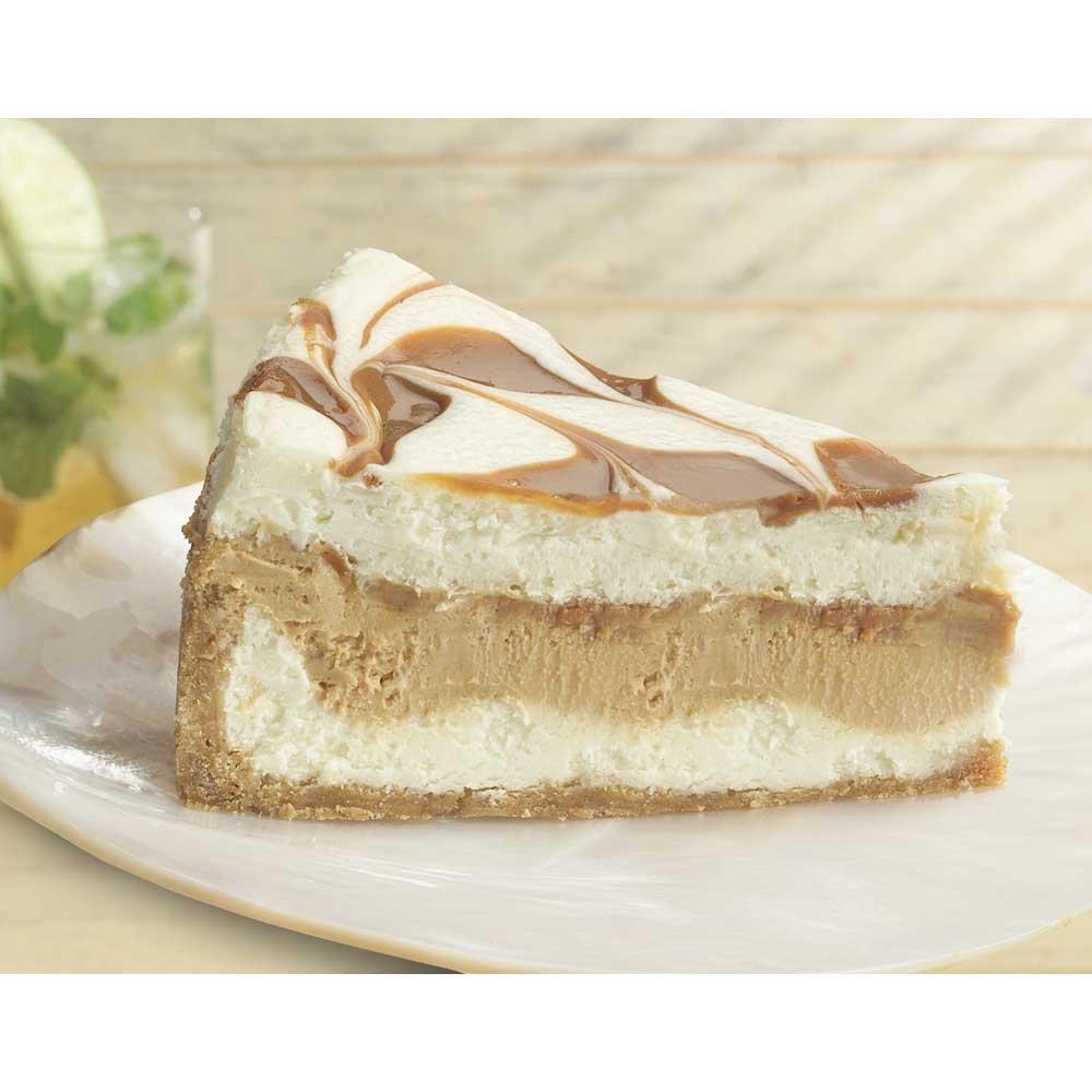 Sweet Street De Leche Dulce Cheesecake, 14 Slice -- 2 per case. by Sweet Street