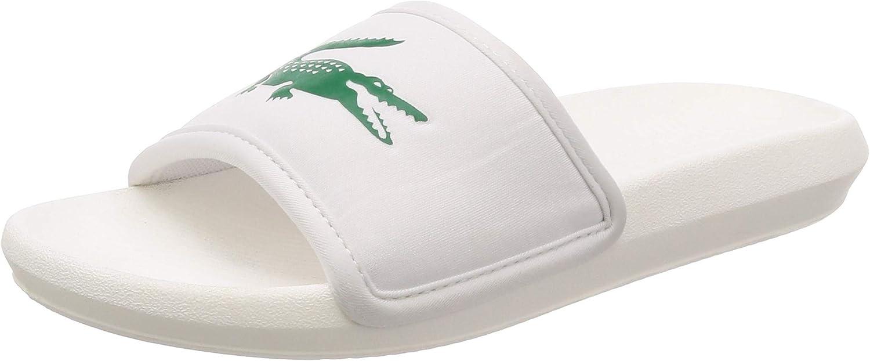 Lacoste Croco Slide 119 3 737cma0020082, Zapatos de Playa y Piscina para Hombre