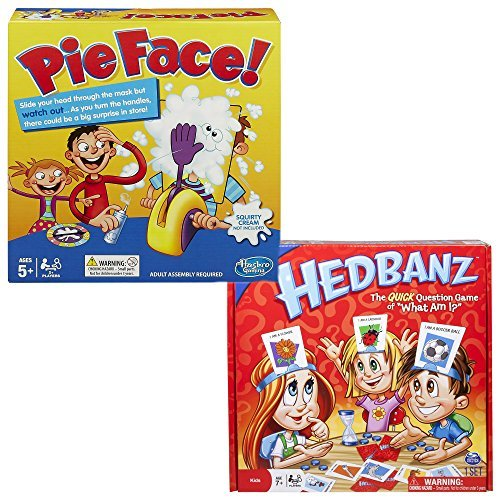 Board Games Bundle Pie Face and HedBanz